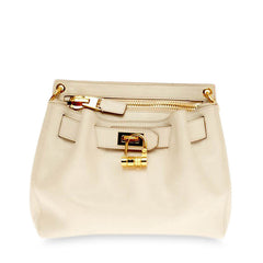 Tom Ford Lock Front Crossbody Leather