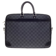 Louis Vuitton Porte-Documents Voyages Damier Graphite Canvas GM