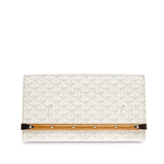 Goyard Monte Carlo Clutch Canvas