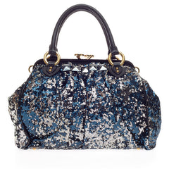 Marc Jacobs NY Rocker Stam Satchel Sequins
