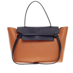 Celine Belt Bag Bicolor Leather Mini