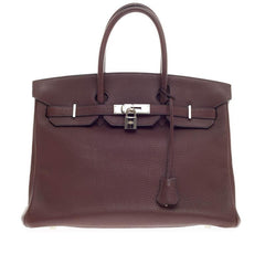 Hermes Birkin Bicolor Togo with Palladium Hardware 35