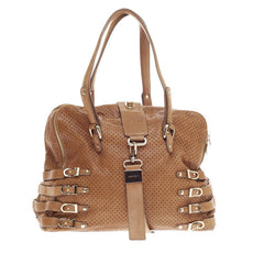 Jimmy Choo Blythe Tote Perforated Leather Large