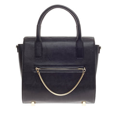 Alexander Wang Chastity Satchel Embossed Lizard Large