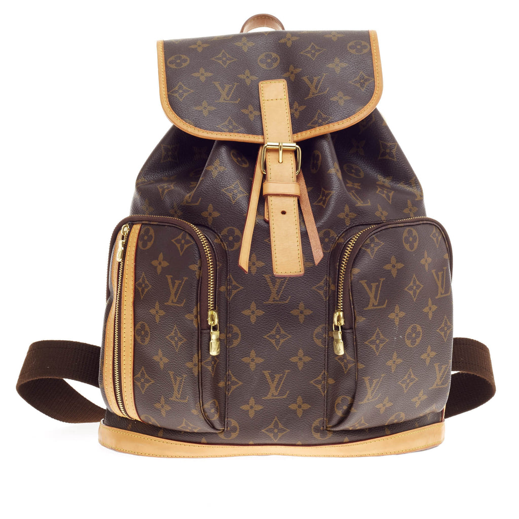 buy louis vuitton bosphore backpack monogram canvas brown. Black Bedroom Furniture Sets. Home Design Ideas