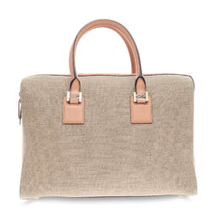 Victoria Beckham East West Victoria Tote Leather and Canvas