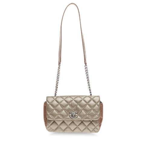 0f8a603156e1 Buy Chanel Lady Pearly Flap Bag Quilted Calfskin Mini Silver 212111 – Rebag