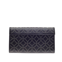 Alaia Flap Clutch Arabesque Studded Leather