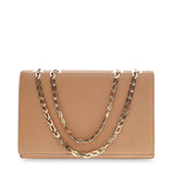 Victoria Beckham Hexagonal Chain Flap Bag Leather