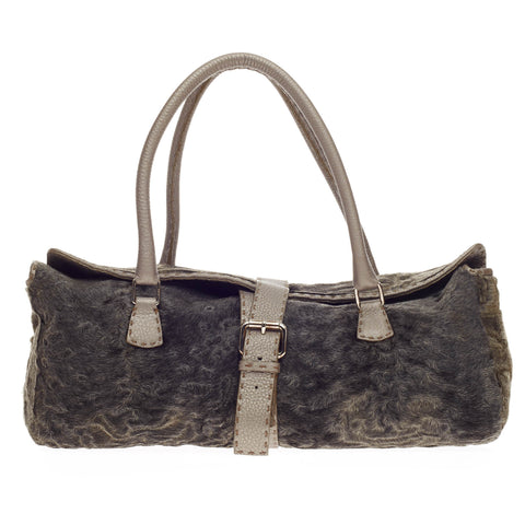 c785e45f2f14 Buy Fendi Buckle Shoulder Bag Persian Lamb and Selleria 221102 – Rebag