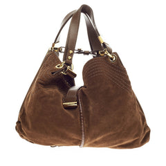 Jimmy Choo Alex Hobo Suede