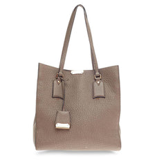 Burberry Woodbury Tote Heritage Grain Leather Medium