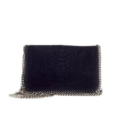 Stella McCartney Falabella Crossbody Faux Snakeskin Mini