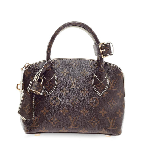 dfaa5f4bbff Buy Louis Vuitton Lockit BB Handbag Monogram Fetish Canvas 232802 – Rebag