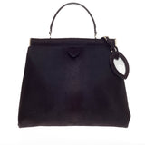 Alaia Top Handle Bag Calf Hair