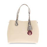 Christian Dior Addict Shopping Tote Leather and Python Small