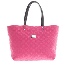 Louis Vuitton Scuba Tote Monogram Embossed Neoprene MM