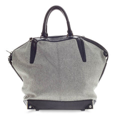 Alexander Wang Emile Tote Felt With Embossed Stingray Large