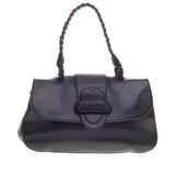 Valentino Histoire Convertible Top Handle Bag Leather -