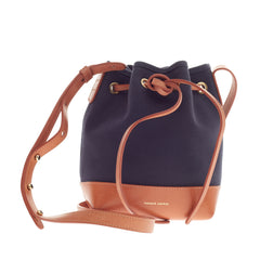 Mansur Gavriel Bucket Bag Canvas Mini