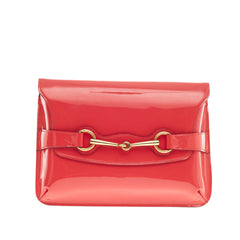 Gucci Bright Bit Shoulder Bag Patent