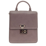 Dolce & Gabbana Miss Linda Convertible Satchel Leather Medium