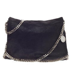 Stella McCartney Falabella Flap Messenger Shaggy Deer -