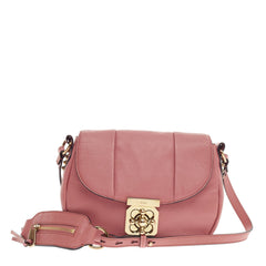 Chloe Elsie Neo Folk Crossbody Leather -