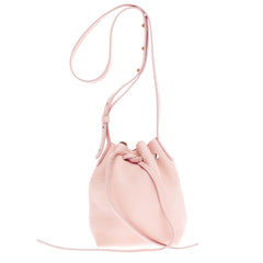 Mansur Gavriel Bucket Bag Pebbled Leather Mini
