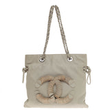 Chanel CC Disc Tote Canvas Small
