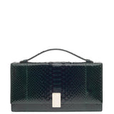Ralph Lauren Top Handle Clutch Python -