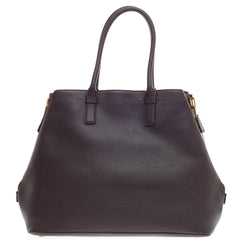 Tom Ford Jennifer Zip Tote Leather Large