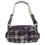 Chanel Camera Bag Camellia Tweed and Leather Small