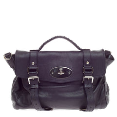Mulberry Alexa Satchel Polished Buffalo -