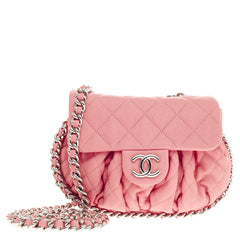 Chanel Chain Around Flap Quilted Leather Medium