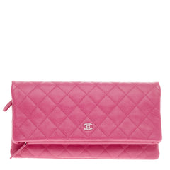 Chanel Beauty CC Clutch Quilted Caviar -