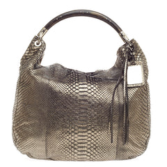 Ralph Lauren Collection Convertible Hobo Python Large