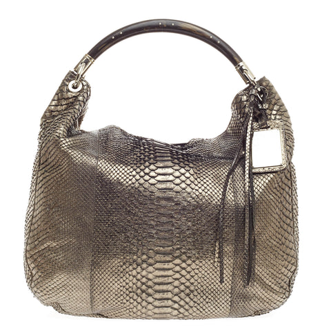 Buy Ralph Lauren Collection Convertible Hobo Python Large 367701 – Rebag 05fcd6410dad1