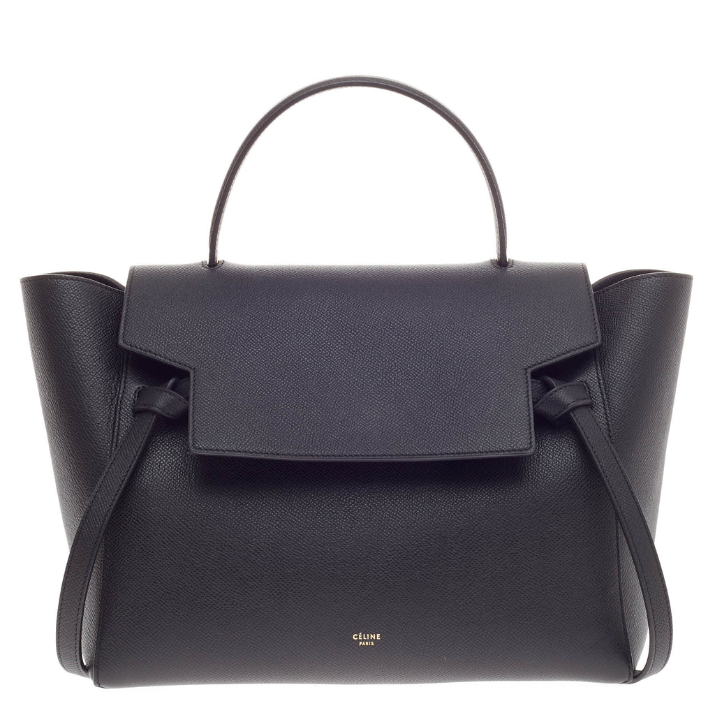 celine purple leather handbag
