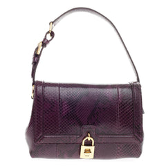Dolce & Gabbana Miss Dolce Shoulder Bag Python Medium