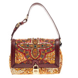 Dolce & Gabbana Miss Dolce Shoulder Bag Embellished Brocade