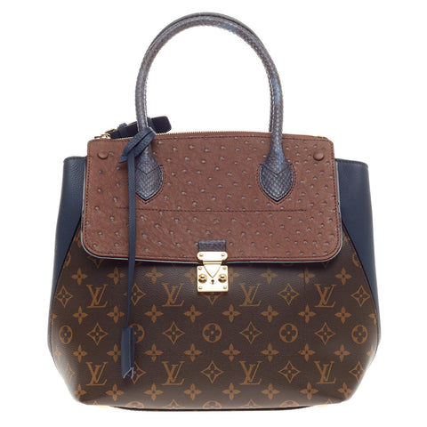 b8223109ea53 Buy Louis Vuitton Majestueux Tote Monogram Canvas and Exotics 392202 – Rebag