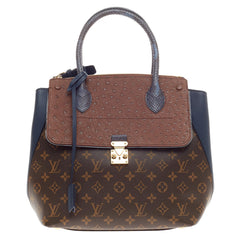 Louis Vuitton Majestueux Tote Monogram Canvas and Exotics MM