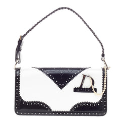 Christian Dior D'Trick Shoulder Bag Leather -