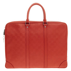 Louis Vuitton Porte-Documents Voyages Damier Infini Leather -