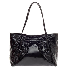 Valentino Betty Bow Tote Patent -