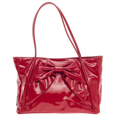 Valentino Betty Bow Tote Patent