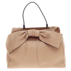 Valentino Aphrodite Bow Bag Leather Large