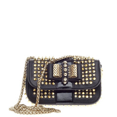 Christian Louboutin Sweet Charity Crossbody Spiked Leather