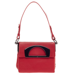 Christian Louboutin Passage Convertible Messenger Leather Mini